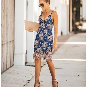 Vici Beauty + Lace Dress